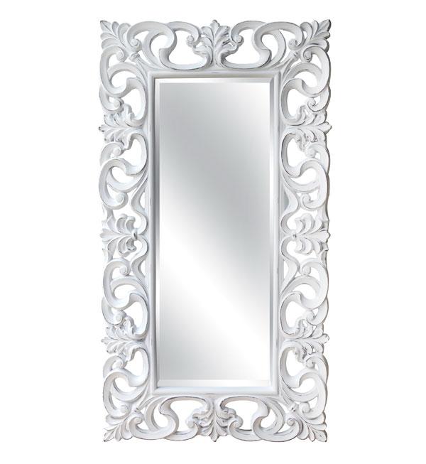 Juliet Mirror Matt White – Jovic Trading Products